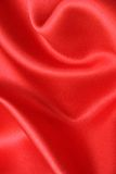Red Satin Fabric Royalty Free Stock Images