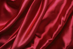 Red satin Stock Images