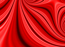 Red Satin Fold Fractal Royalty Free Stock Images
