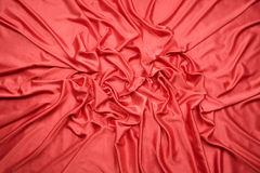 Red satin random pattern Royalty Free Stock Photos