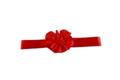 Red satin ribbon Royalty Free Stock Photos