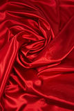Red Satin/Silk Fabric 4 Stock Images