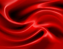 Red satin vector Royalty Free Stock Images