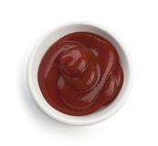 Red sauce Royalty Free Stock Images