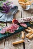 Red sausage Stock Photo