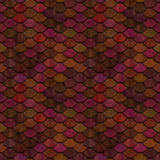 Red Scales Seamless Pattern Stock Images