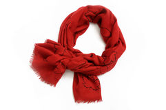 Red scarf Royalty Free Stock Images