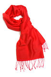 Red scarf Stock Photography