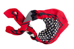 Red scarf Royalty Free Stock Image