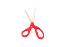 Red scissors Stock Photo