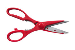 Red scissors Stock Image