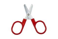 Red scissors Stock Image