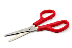 Red Scissors Royalty Free Stock Images