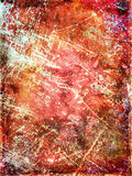 Red scratched grungy background Royalty Free Stock Photos