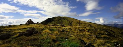 Red Screes Stock Photography