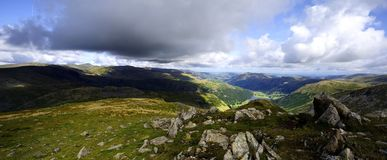 Red Screes Royalty Free Stock Photography