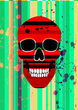 Red scull Stock Images