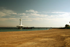 Red sea. Observatory rest on red sea Stock Images