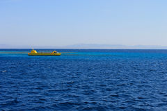 Red sea around Dahab royalty free stock images
