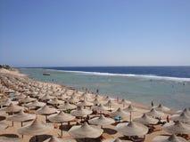 Coastline of Sharm-el-Sheikh, Egypt. royalty free stock photo