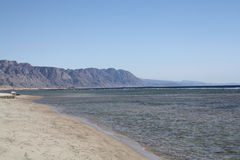 Red Sea. In Ber Suer, Sinai Royalty Free Stock Photography