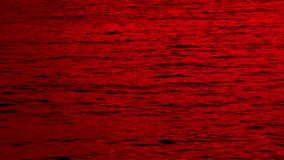 Red Sea Of Blood stock video footage