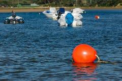 Red sea buoy. Stock Photos