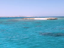 Red sea coast. And coral reef Stock Images