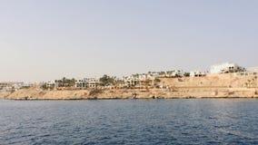 Red Sea coast stock footage