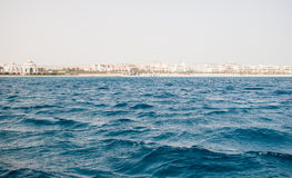 Red Sea coast line Royalty Free Stock Photo