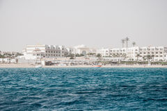 Red Sea coast line Stock Images