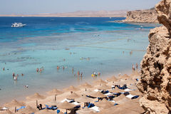 Red sea coast Stock Photos