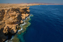 Red Sea coastline Royalty Free Stock Photography