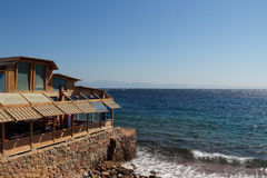 The red sea in Dahab of Egypt Royalty Free Stock Photos