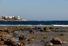 The red sea in Dahab of Egypt Stock Photography
