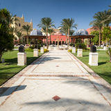 Red Sea hotel entrance Royalty Free Stock Photos