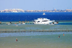 Red Sea in Hurghada Egypt Royalty Free Stock Photo