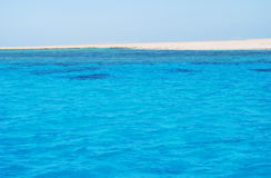 Red Sea island. The coast of the unpopulated island in the Red Sea Royalty Free Stock Photos