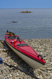 Red Sea Kayak Stock Images