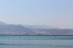 Red sea landscape stock photos