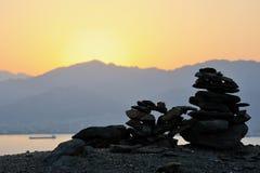Red Sea Mountains Royalty Free Stock Photos