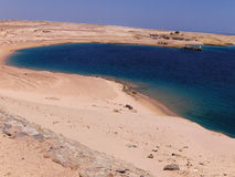 Red sea near Sharm el-Sheikh Stock Photography