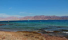 Red Sea. Photo of Israeli Red Sea coast Royalty Free Stock Photo