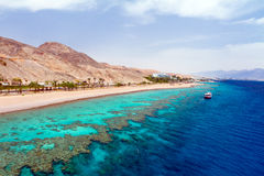 Red sea before a rain Royalty Free Stock Image