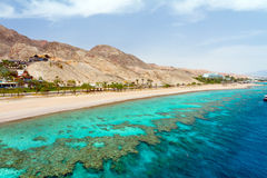 Red sea before a rain Royalty Free Stock Photos