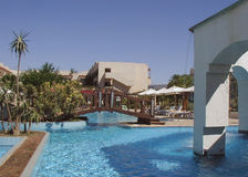 Red Sea Resort Africa. Resort Hotel on the Red Sea at Sharm El-Sheikh, Egypt Stock Photography