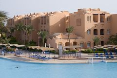 Red Sea Resort - Nice Architec Stock Image
