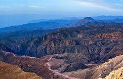 Red Sea from Rocky mountains Stock Image