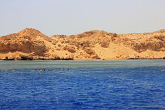 Red sea seashore on Ras Mohamed territory Stock Photography