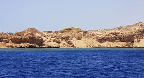 Red sea seashore on Ras Mohamed territory Royalty Free Stock Photo